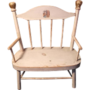 Charming Doll Seat with original decal