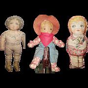 Delightful Cloth Dolls 3 for 1