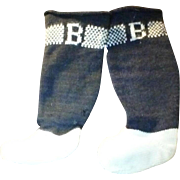 Doll Socks Marked B