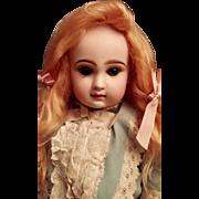 Seldom Seen Long Strawberry Blonde Mohair Wig