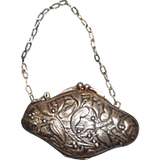 Beautiful Fine Metal French Bebe Purse