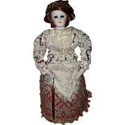 Very Rare French Mechanical Gliding Doll Seldom Seen!