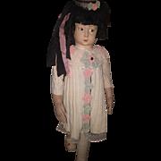 Rare Large Size Lenci Girl