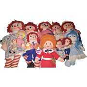 Lare Raggedy Ann and Friends Collection