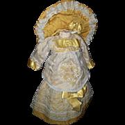Original Antique Bebe Dress and Bonnette for your Bru Steiner FG Jumeau