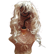 Antique Ash Blonde Hand tied wig