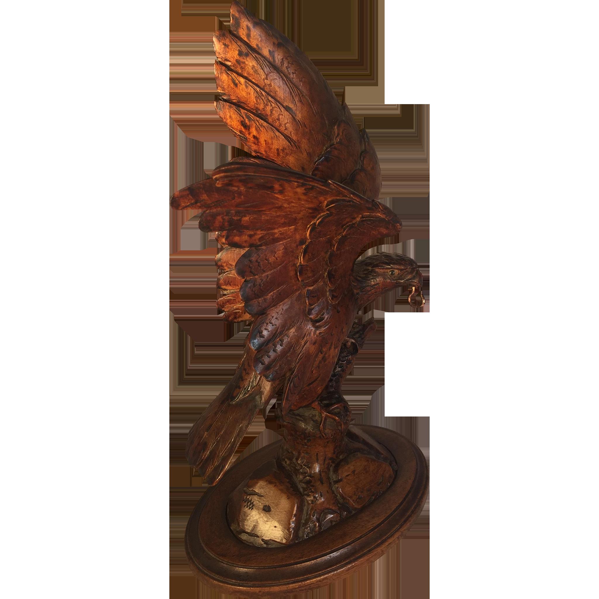 Black Forest Eagle Pocket Watch Holder