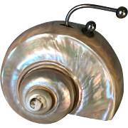 Nautilus Shell Desk Bell