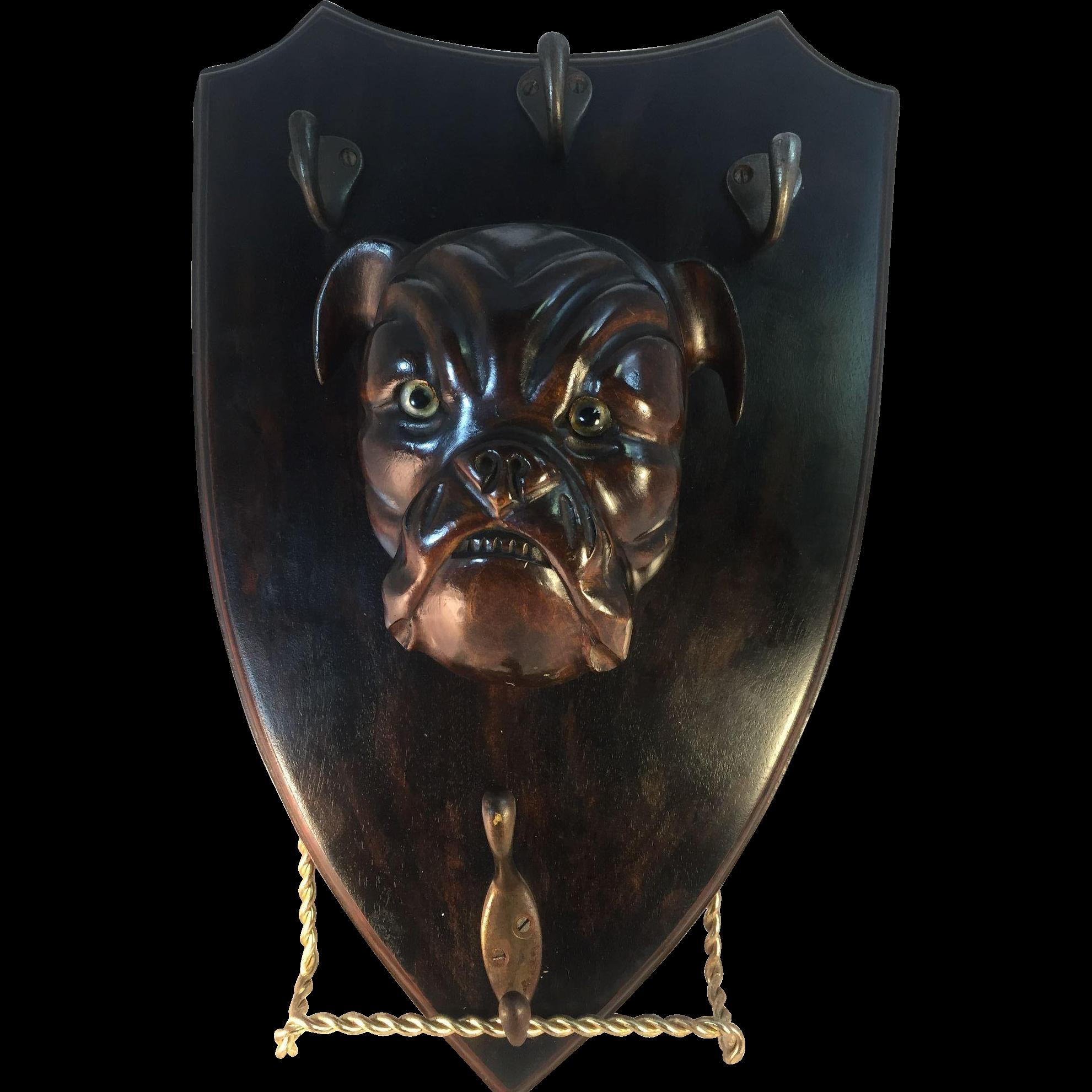 Bull Dog Crop/Hat/Coat/Rack