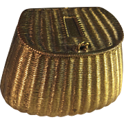 BRASS Creel Vesta/Match Holder