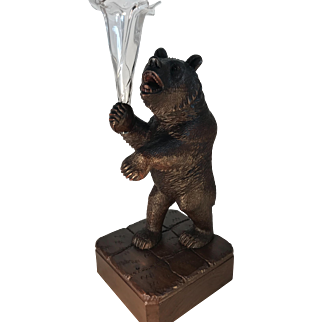 Black Forest Bear Epergne.