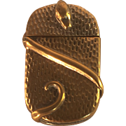 Brass Snake Vesta/Match Holder