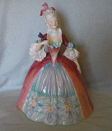 Royal Doulton Lady Figure - Georgiana - Retired