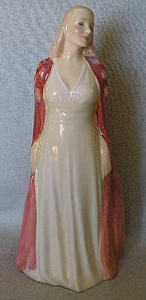 Royal Doulton Lady Figure _ Collinette - Retired and Scarce