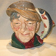 Royal Doulton Large Toby Mug - The Poacher D6429 - Retired