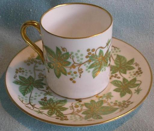 Shelley Coffee/Demi-Tasse Cup & Saucer