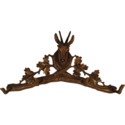 Black Forest Chamois Hat Rack
