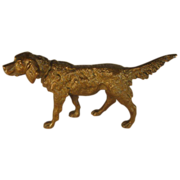 Austrian Bronze Dog Figure