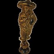 Bronze Letter Seal - Cavalier