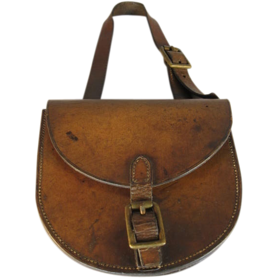 Spare Horseshoe in Leather Case