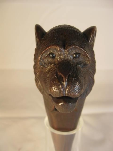 Black Forest Hand Carved Monkey Nutcracker
