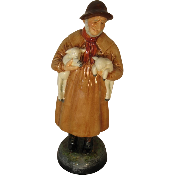 "Royal Doulton Figure - ""Lambing Time"" - HN1890."