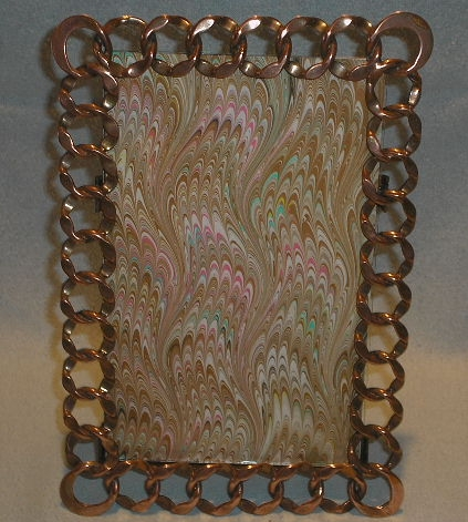 English Copper Ring Frame