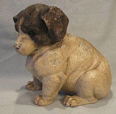 Terra Cotta Dog - Victorian