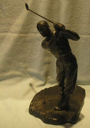 Golfing Figure