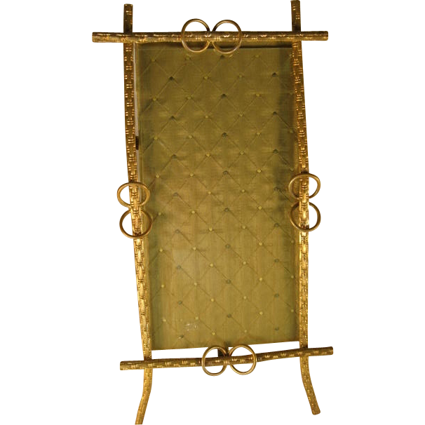French Gilt Brass Photo Frame