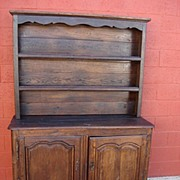 Antique French Provincial Dresser Step Back Cabinet Antique Hutch