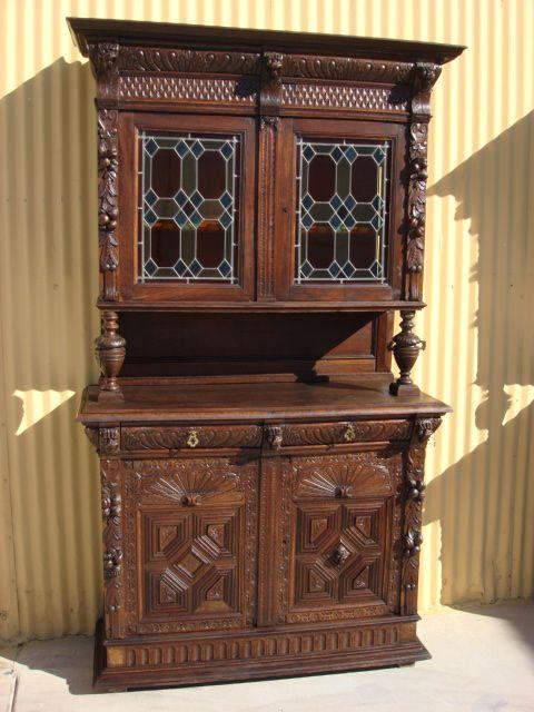 Antique carved furniture