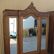 French Antique Louis XV Armoire Antique Wardrobe Closet Antique Bedroom Furniture