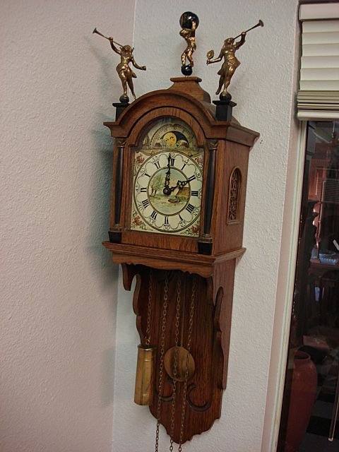 Original Dutch Wall Clock