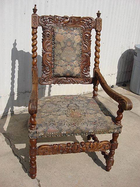 German Antique Armchair Antique Chair German Antique Furniture - German Antique Armchair Antique Chair German Antique Furniture