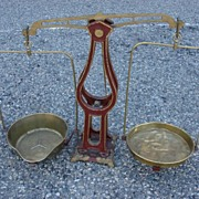French Antique 10kg Shop Scale Antique Scale