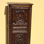 French Antique Carved Cabinet Antique Cupboard French Antique Furniture