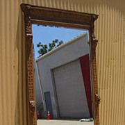 French Antique Wall Mirror Carved Large Pier Mirror Antique Furniture