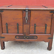 French Antique Trunk Antique Chest Coffer french Antique Furniture