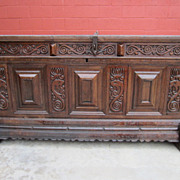 Spanish Antique Chest Trunk Antique Coffer Antique Furniture