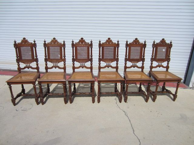 Set of 6 French Antique Dining Room Chairs French Antique Furniture - Set Of 6 French Antique Dining Room Chairs French Antique