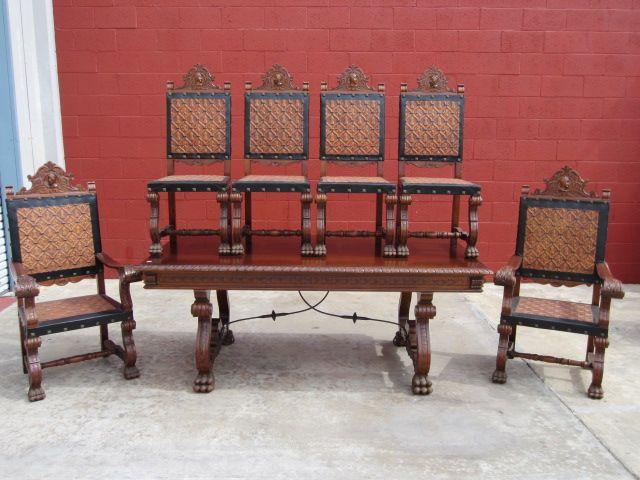 antique dining set antique table antique dining