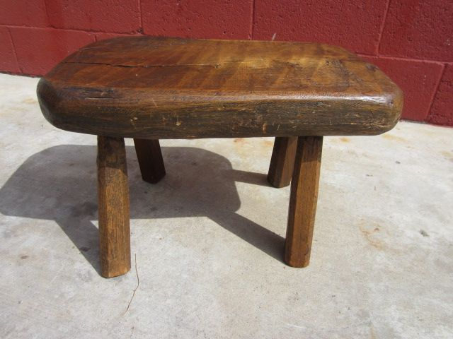 rustic stools benches 1