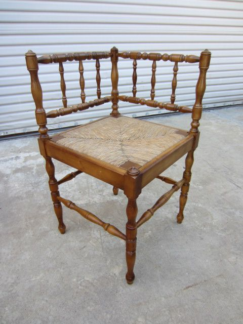 French Antique Corner Chair Accent Chair French Antique Furniture - French Antique Corner Chair Accent Chair French Antique Furniture