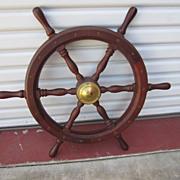 Dutch Ships Steering Wheel Dutch Nautical Item