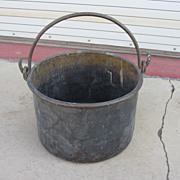 French Antique Large Copper Pot French Antique Pot