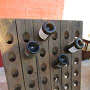 French Champagne Bottle Holder Antique Architectural Element