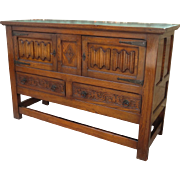 Antique Server Antique Sideboard Antique Rustic Storage Cabinet Antique Furniture