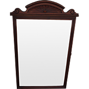 Carved American Antique Victorian Mirror, Antique Wall Mirrow, Antique Victorian Mirror, Antique Furniture