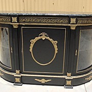 French Regency Console Buffet Server Sideboard Cabinet French Furniture